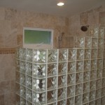 walk-in shower with glass block - Design Build Pros (1)