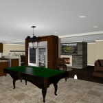 wine room plan