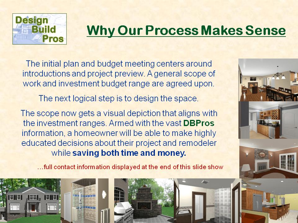 Architect Vs Design Build Process For Remodeling Design