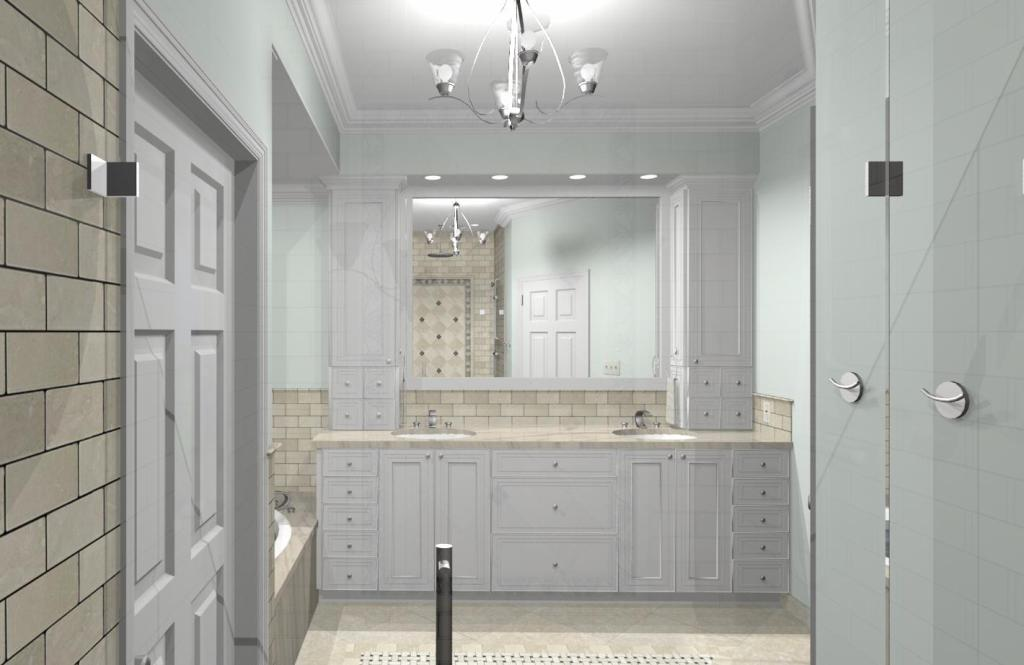 Master bathroom design options plan 1 design build pros for New master bathroom designs