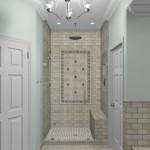New Jersey master bathroom remodeling design option - Plan 1 (4)