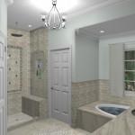 New Jersey master bathroom remodeling design option - Plan 1 (5)