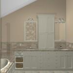 New Jersey master bathroom remodeling design option - Plan 2 (1)
