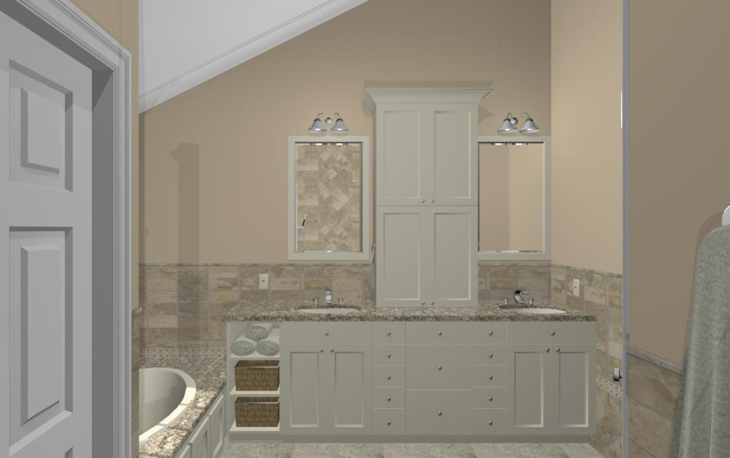 Bathroom Remodeling Options master bathroom design options - plan 2 - design build pros