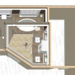 New Jersey master bathroom remodeling design option - Plan 3 (9)
