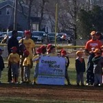 Design Build Planners sponsors youth baseball team in Burlington, NJ 08016 2