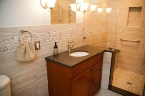 Hall bathroom design build remodeling in NJ - Design Build Pros (1)