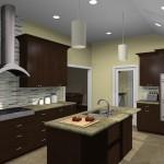 Kitchen remodeling design option - UPSCALE 07059 (1)