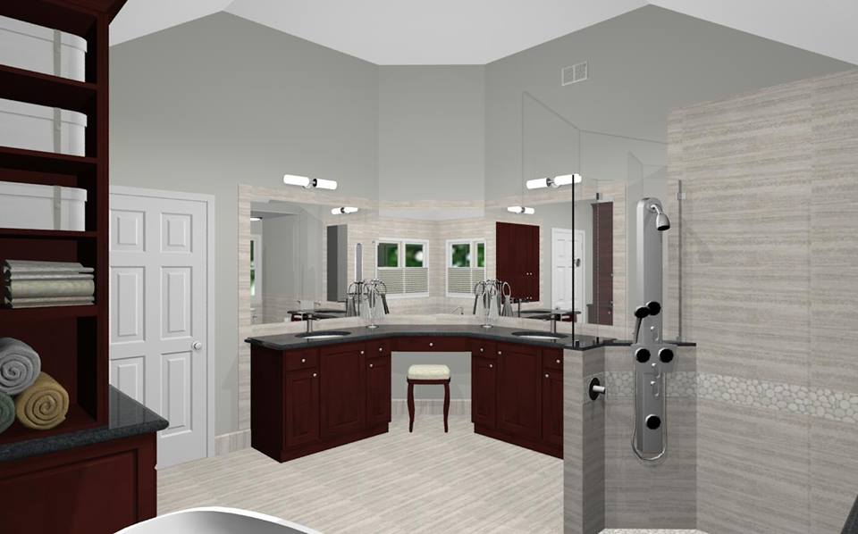 Prepossessing 50 Master Bathroom Addition Cost Design Ideas Of Guerra Construction Creating An