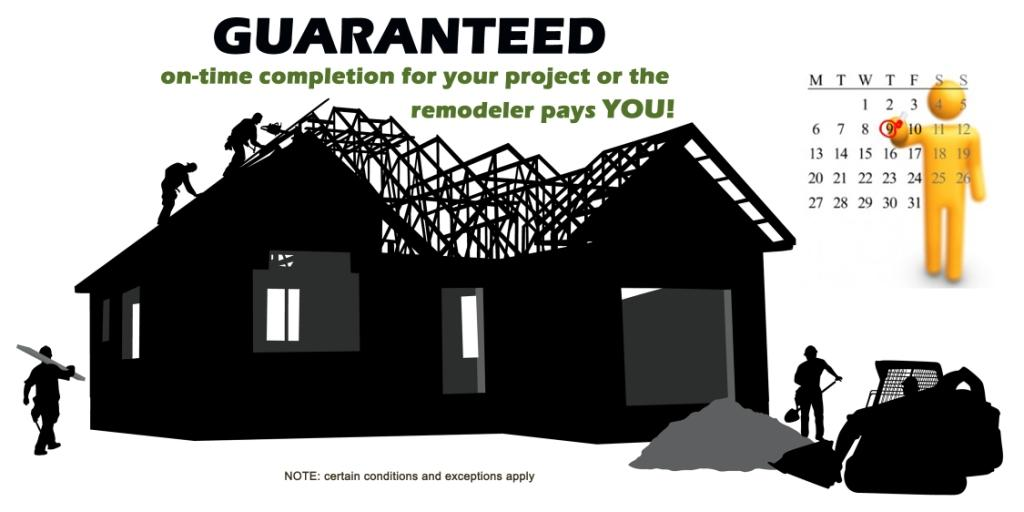 On time remodeling project guarantee - Design Build Planners