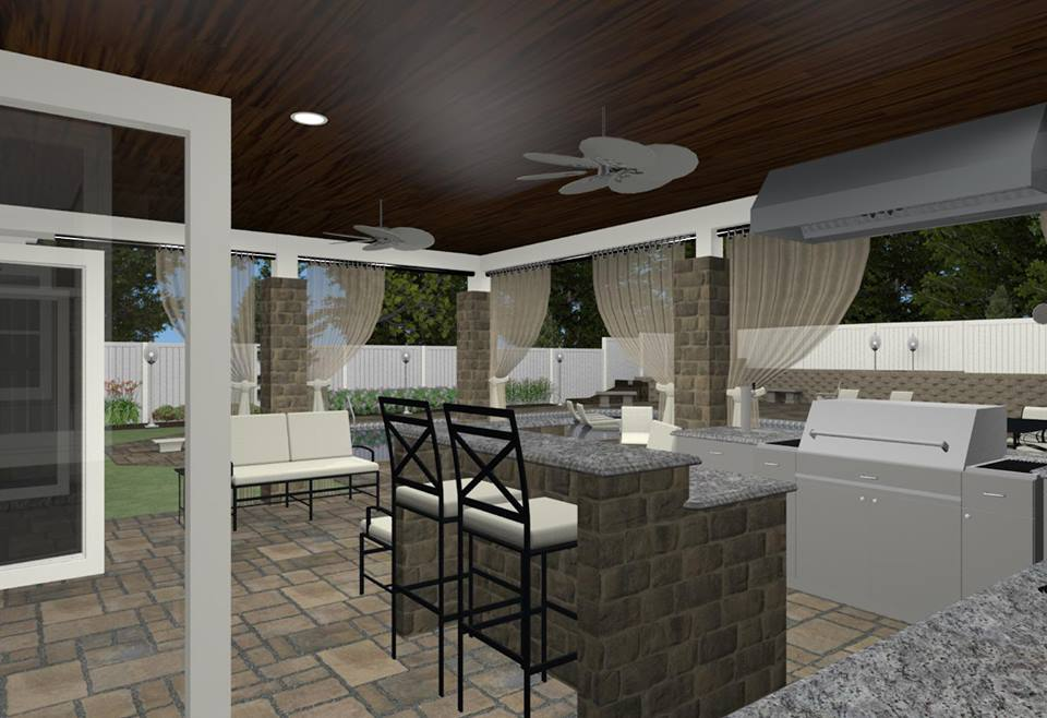 nj kitchen contractor outdoor kitchen design