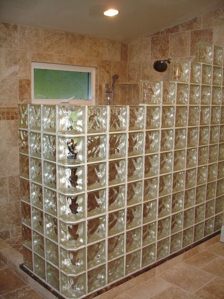 Bathroom Window Glass Block