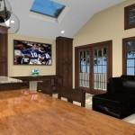 Kitchen island design with wood countertop - Design Build Pros (2)