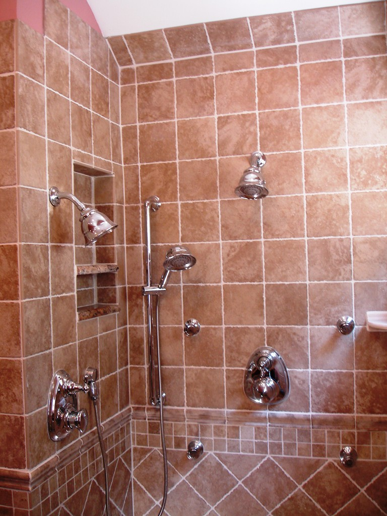Bathroom Remodeling Toms River Nj shower niche - design build pros