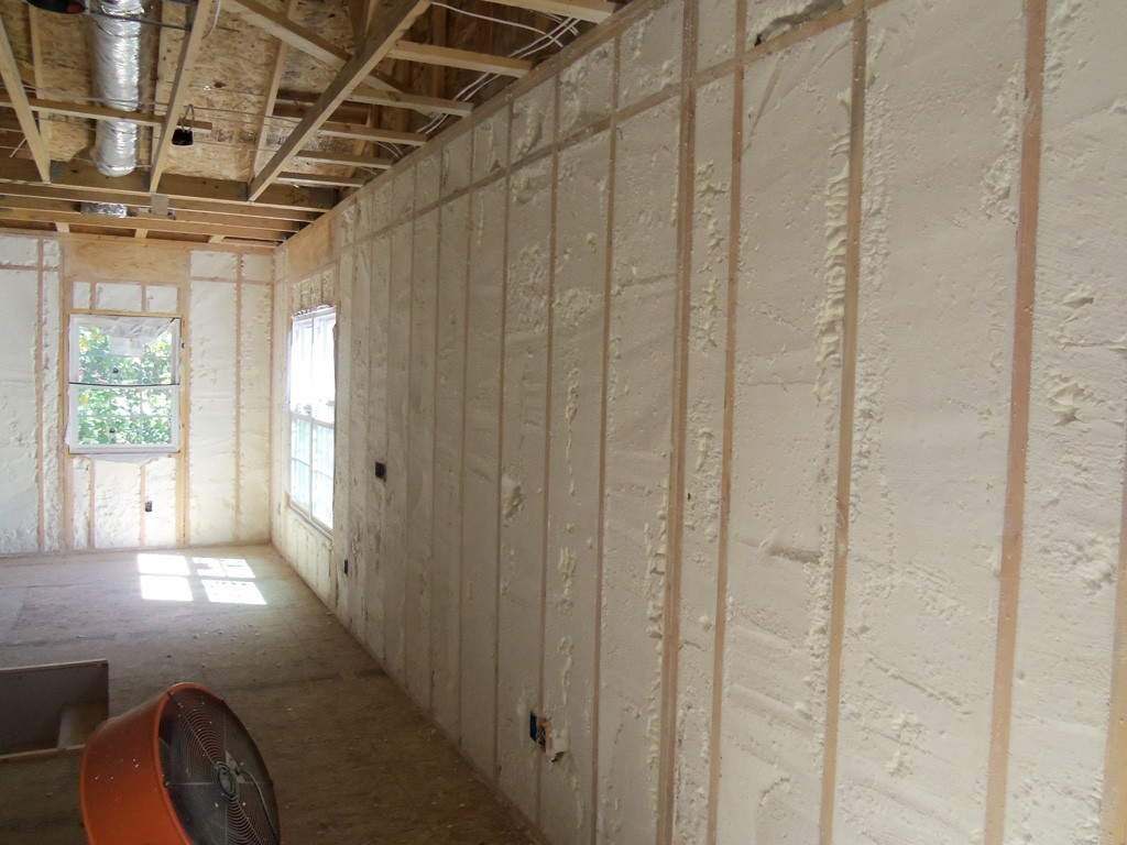 Spray Foam Insulation For Remodeling Projects Design Build Planners