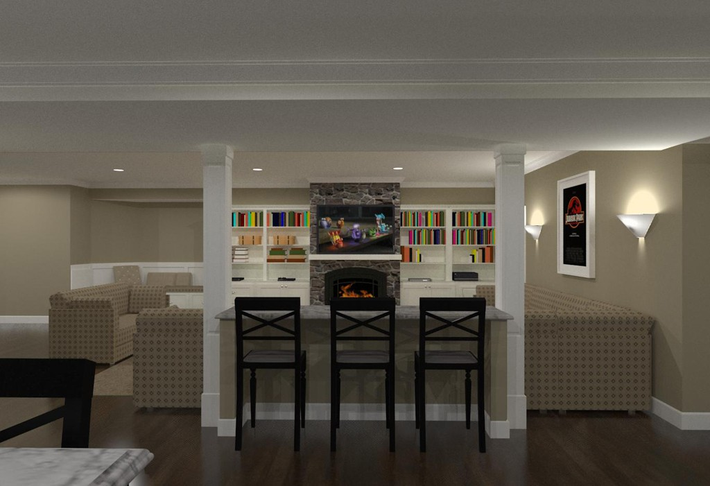Character Generator Computer Aided Design : Basement finishing in morristown nj design build planners