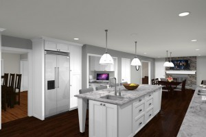 Computer Aided Design For New Jersey Kitchen Remodel (1)