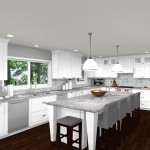 Computer Aided Design For New Jersey Kitchen Remodel (2)