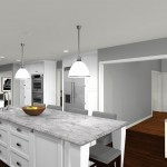 Computer Aided Design For New Jersey Kitchen Remodel (3)