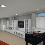 Computer Aided Design for a Basement Remodel (5)