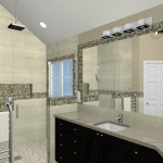 Computer Aided Design for a Bathroom Remodel in NJ (1)