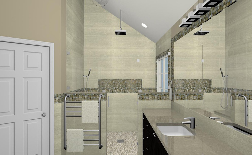 computer aided design for a bathroom remodel in nj 2 - Bathroom Remodel Design