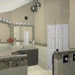 Computer Aided Design for a Bathroom Remodel in NJ (3)