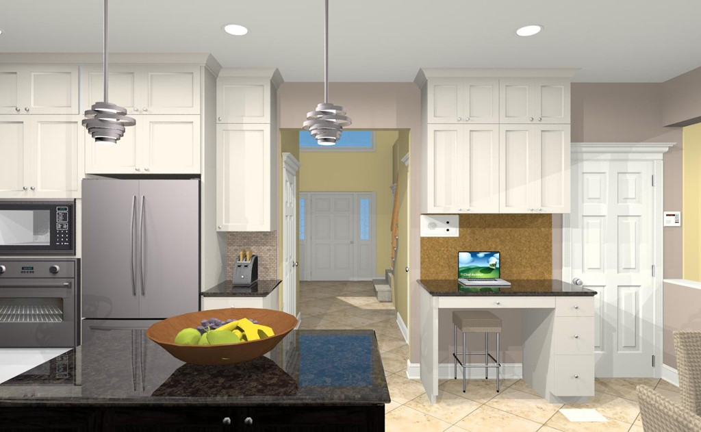 Computer Aided Design For A Kitchen Remodel 1