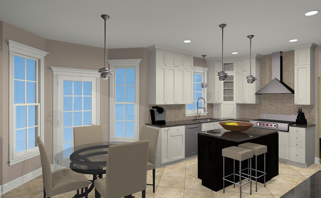 Computer Aided Design For A Kitchen Remodel 4