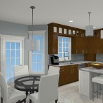 Computer Aided Design for a Kitchen Remodel in NJ (3)