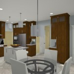 Computer Aided Design for a Kitchen Remodel in NJ (4)