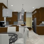 Computer Aided Design for a Kitchen Remodel in NJ (5)