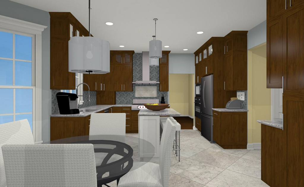 Kitchen Basement And Bathroom Designs For A Middlesex