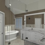 Computer Aided Design for a NJ Master Bathroom (2)