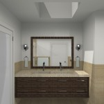 Computer Aided Design of Bathroom Remodel (1)