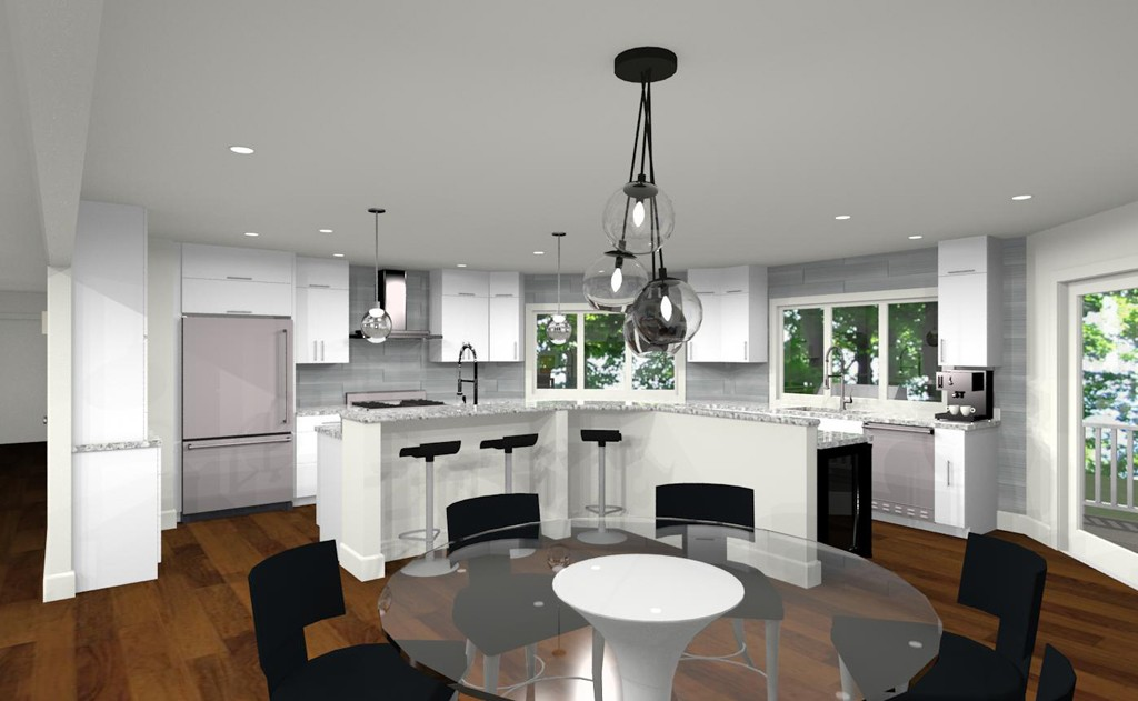 Gorgeous Kitchen Renovation In Potomac Maryland: Remodel And Addition In Begen County, NJ