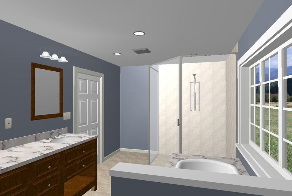 Character Generator Computer Aided Design : Master bathroom remodel in homdel nj