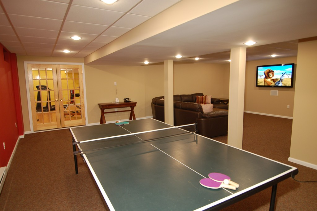 Game room for your family design build planners - Interior design games for adults ...