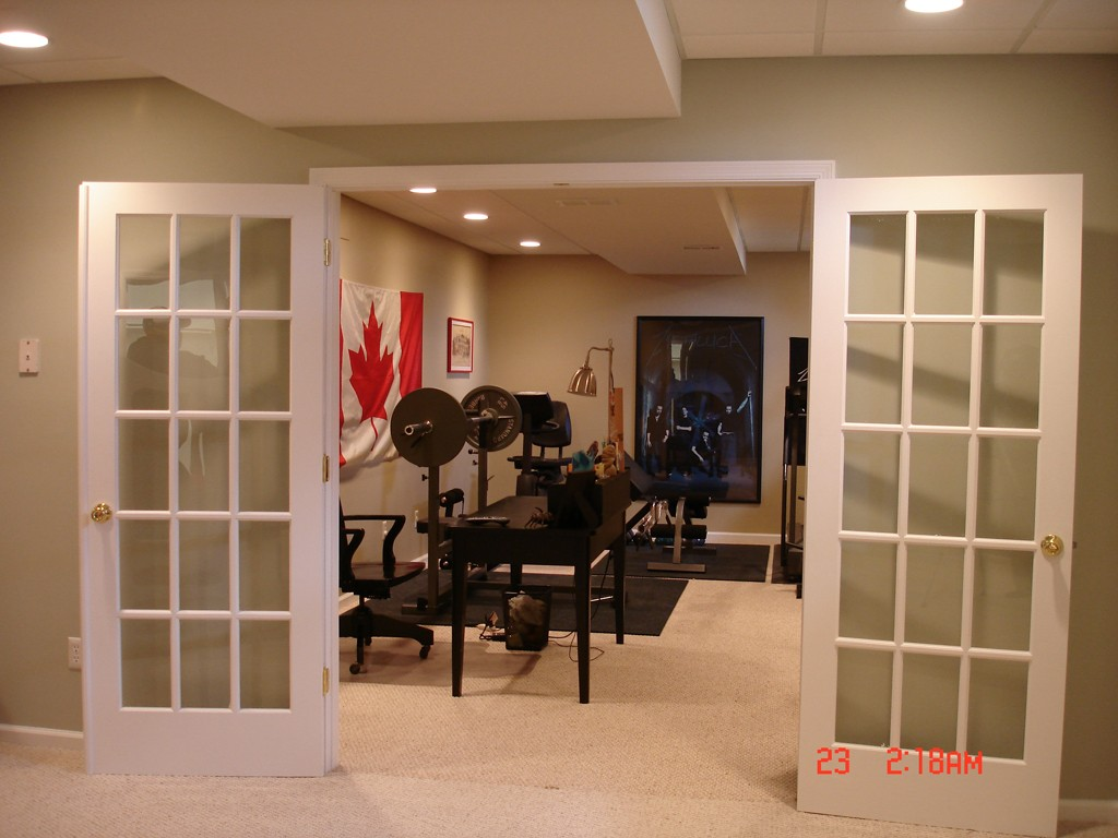 home gym design option 2 - In Home Gym Designs
