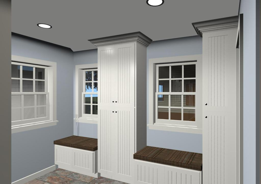 Mud room and laundry room design ideas design build planners for Mudroom layout
