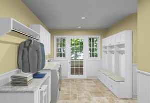 Stackable Washer Dryer Laundry Room Hanging Racks