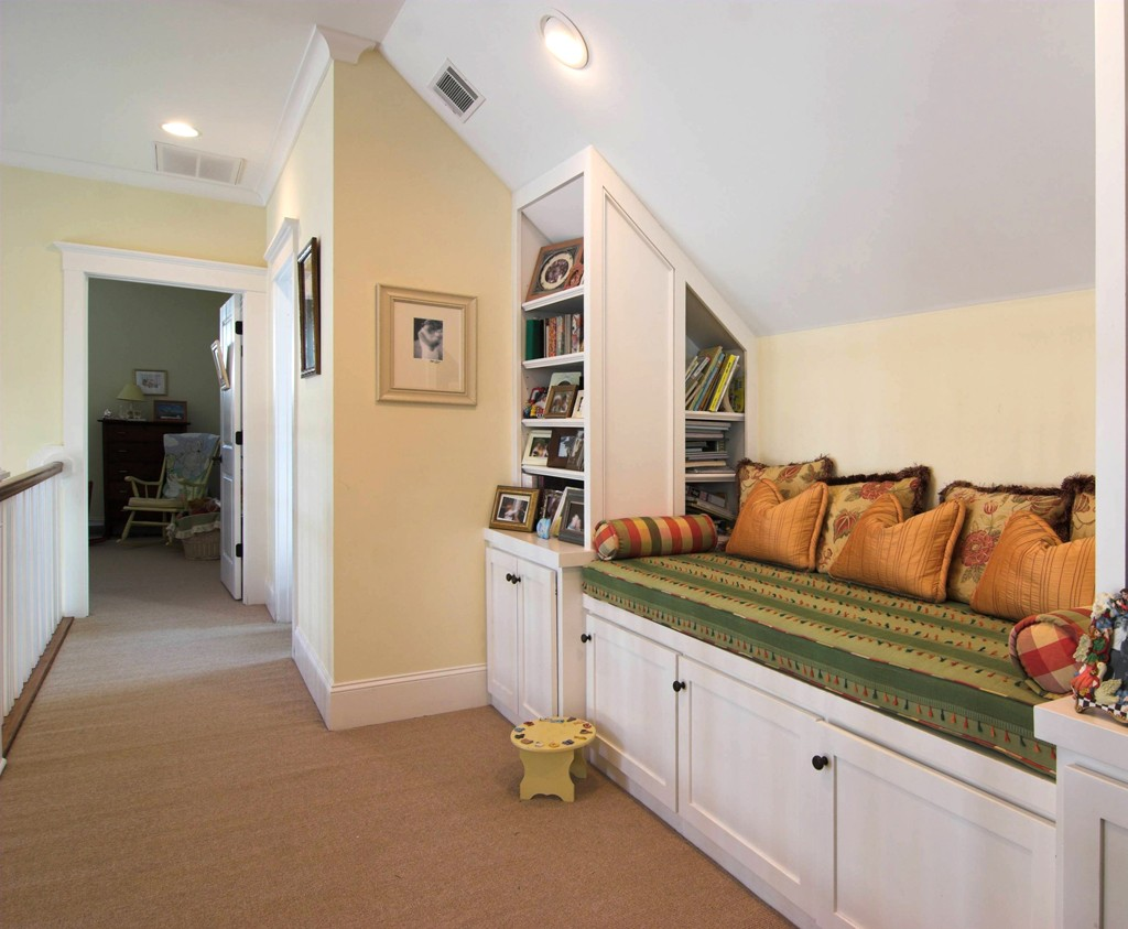 Home library and nook designs design build pros Built in reading nook