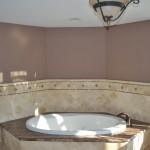 Soaking tub for a NJ bathroom remodel (12)