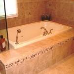 Soaking tub for a NJ bathroom remodel (8)