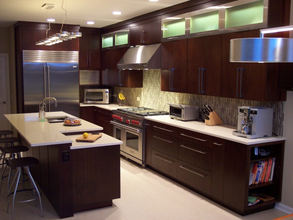 slab cabinets kitchen