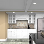 CAD for a Kitchen Remodel in Watchung NJ (1)