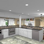 CAD for a Kitchen Remodel in Watchung NJ (3)