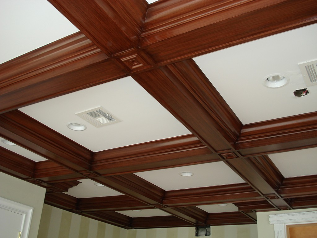 Defining Coffered Ceilings Coffered Ceiling Molding (2)-Design Build Pros
