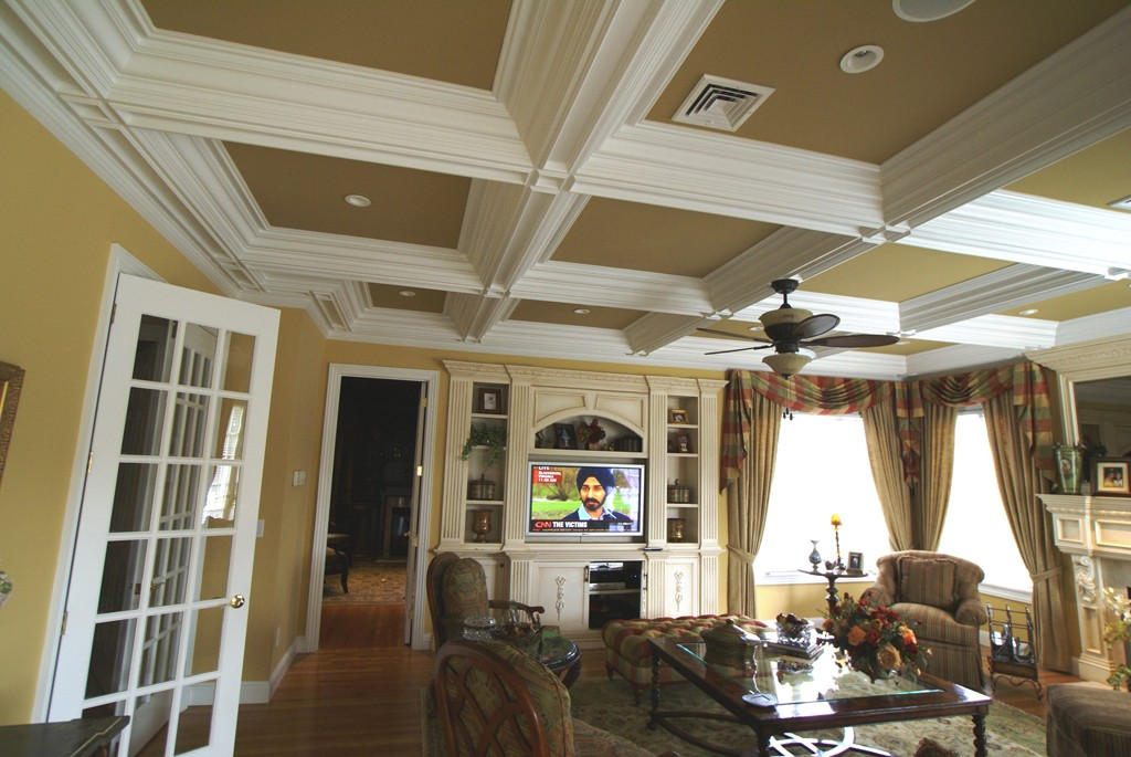 Best Way To Build A Coffered Ceiling