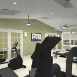 Exercise Room CAD (3)-Design Build Planners